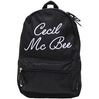 セシルマクビー(CECIL McBEE)のCECIL McBEE セシルマクビー リュックサック はっ水生地★ブラック新品(リュック/バックパック)