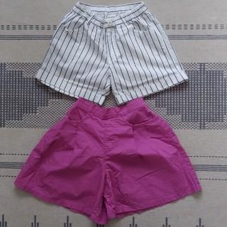 GU - 150cm☆ブランシェス GU 女の子 キュロット ショートパンツ 2着