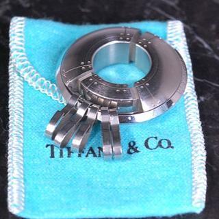 ティファニー(Tiffany & Co.)のTIFFANY&Co. ティファニー バッグチャーム 5連 キーリング レア(チャーム)