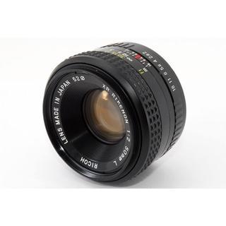 リコー(RICOH)のRicoh リコー 50mm f/2 MF レンズ(レンズ(単焦点))