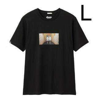 GU - GU シャイニング Tシャツ L