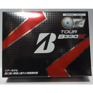 ブリヂストン ゴルフボール TOUR B330X ホワイト 1ダース 12個
