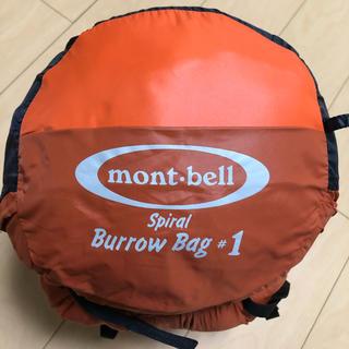 mont bell - モンベル 寝袋 スパイラルバロウバッグ♯1 寝袋 シュラフ