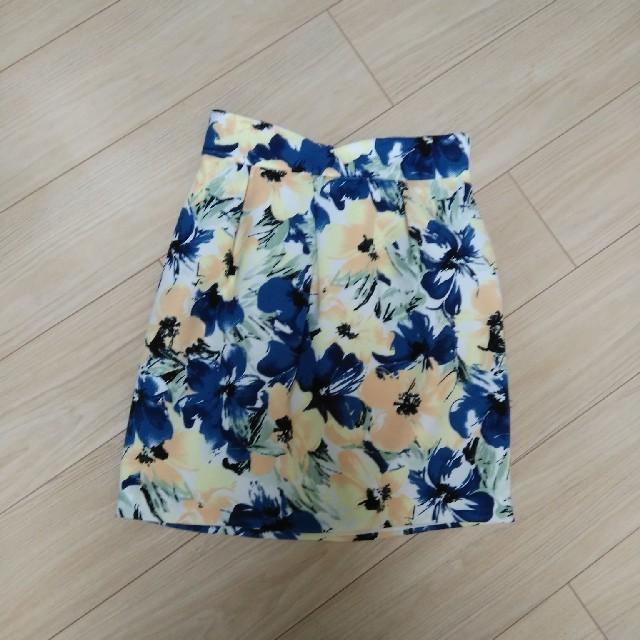 ByeBye(バイバイ)のByeBye スカート 花柄 レディースのスカート(ひざ丈スカート)の商品写真