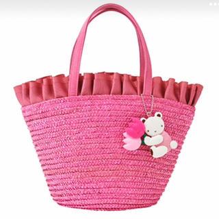 ファミリア(familiar)のかごバッグ(ピンク色が可愛いです)♡*゜(その他)