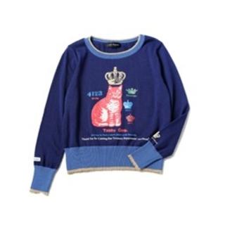 ジェーンマープル(JaneMarple)の本日のみ値下げ toys department sweater ネイビー(ニット/セーター)