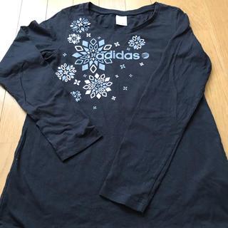 アディダス(adidas)のadidas長T♡お値下げ(Tシャツ(長袖/七分))