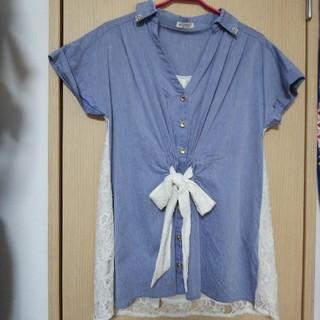 アクシーズファム(axes femme)のチュニックシャツ(チュニック)