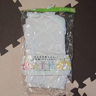 西松屋 - 日本製 新品肌着50-60 新生児 3枚