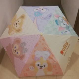 ダッフィー(ダッフィー)の香港ディズニー限定 ダッフィー フレンズ 折り畳み 傘(傘)