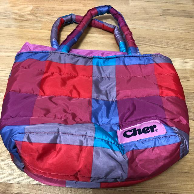 Cher(シェル)のミニトートバック レディースのバッグ(トートバッグ)の商品写真