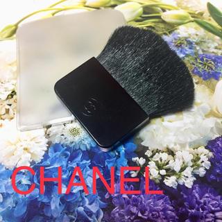 シャネル(CHANEL)のCHANEL シャネル チークブラシ フェイスパウダーブラシ メイクブラシ(その他)