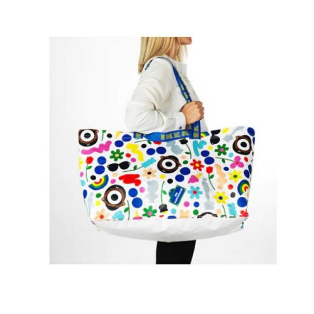 IKEA(イケア)の【IKEA】フォルンヤド エコバッグ レディースのバッグ(エコバッグ)の商品写真
