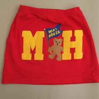 ミキハウス(mikihouse)のミキハウス スカート  サイズ100(スカート)