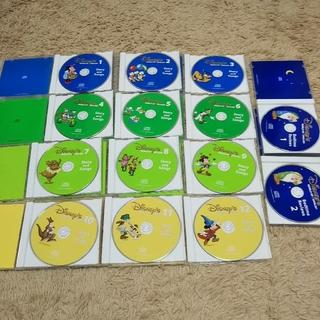 Disney - ディズニー 英語 Story and Songs CD 14枚セット