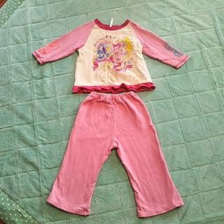 バンダイ(BANDAI)のプリキュア 光るパジャマ 100 裏起毛(パジャマ)