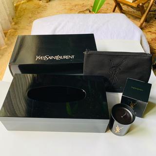 イヴサンローランボーテ(Yves Saint Laurent Beaute)のYSL  黒のルームアクセサリーセット 未使用品(その他)