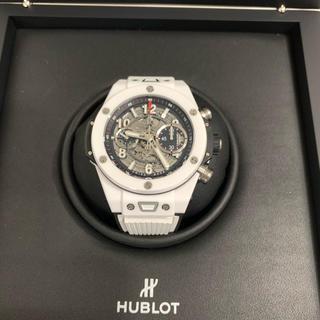 ウブロ(HUBLOT)の最終値下げウブロ ビッグバン ウニコ411.HX.1170.RXホワイト45mm(腕時計(アナログ))
