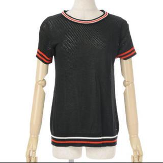ディーゼル(DIESEL)のDIESELディーゼル メッシュ半袖トップス(Tシャツ(半袖/袖なし))