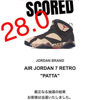 ナイキ(NIKE)の【28.0】PATTA × NIKE AIR JORDAN 7 OG SP(スニーカー)