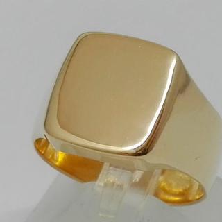 k18 リング 印台(リング(指輪))