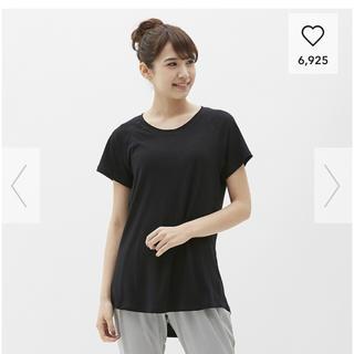 GU - GUスポーツ クルーネックTシャツ