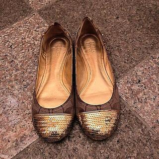 コーチ(COACH)のお値下げ未使用 コーチ  balletshoes23  1/2cm(スリッポン/モカシン)