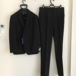 オリヒカ(ORIHICA)の新品未使用 ORIHICA 春夏 2ボタン スーツ A4 ブラック ストライプ(セットアップ)