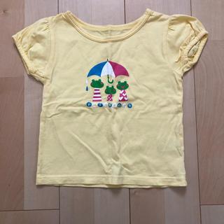 ベルメゾン(ベルメゾン)の☆ベルメゾン GITA 黄色 カエル 半袖Tシャツ110cm☆☆(Tシャツ/カットソー)