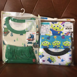 ユニクロ(UNIQLO)の新品☆80☆パジャマ上下&タンクトップ3枚(パジャマ)