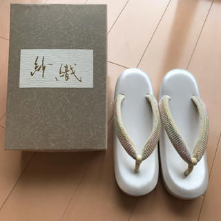 紗織謹製 草履 ♡ 礼装・プチ礼装 ♡ 和装小物 ぞうり M