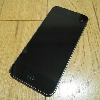 アップル(Apple)のApple iPod touch 第6世代 16GB スペースグレー 中古 美品(ポータブルプレーヤー)