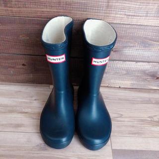 ハンター(HUNTER)の新品HUNTERレインブーツ☆ノースフェイス、Patagonia(長靴/レインシューズ)