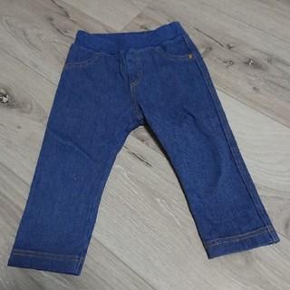 ユニクロ(UNIQLO)のユニクロ デニム パンツ 80cm(パンツ)
