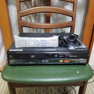 パナソニック(Panasonic)の希少W録!完動超美品パナソニックVHS/HDD/DVDレコーダDMR-XW41V(DVDレコーダー)