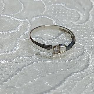 シンプルシルバーリング(CZ)(リング(指輪))