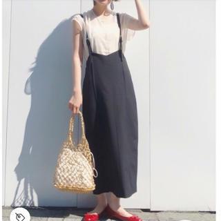 ハレ(HARE)のHARE サスツキ3WAYサロペットスカート(ロングスカート)