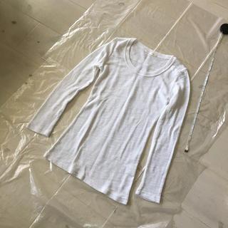 ローリーズファーム(LOWRYS FARM)の新品 ローリーズファーム カットソー Tシャツ 近日リサイクルショップ行き(Tシャツ(長袖/七分))