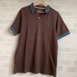 オーシャンパシフィック(OCEAN PACIFIC)のop ブラウン メンズポロシャツ XLサイズ(ポロシャツ)