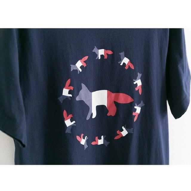 MAISON KITSUNE'(メゾンキツネ)のMaison kitsune ビッグロゴ S メンズのトップス(Tシャツ/カットソー(半袖/袖なし))の商品写真