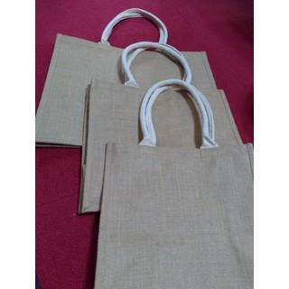 ムジルシリョウヒン(MUJI (無印良品))の無印良品 ジュートマイバッグ 3サイズセット(トートバッグ)