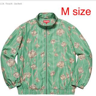 Supreme - Supreme Floral Silk Track Jacket mint