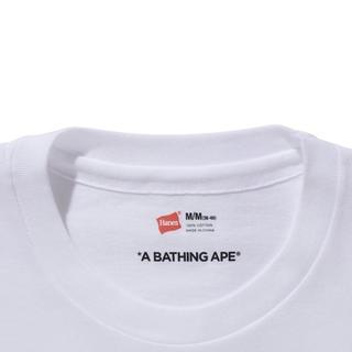 アベイシングエイプ(A BATHING APE)のBape X Hanes Tシャツ 新品(Tシャツ/カットソー(半袖/袖なし))