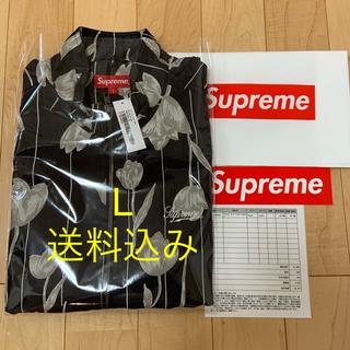 Supreme - Floral Silk Track Jacket L