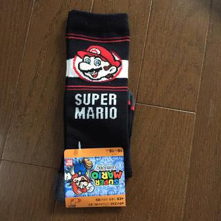 バンダイ(BANDAI)の新品 マリオ 靴下 ハイソックス(靴下/タイツ)