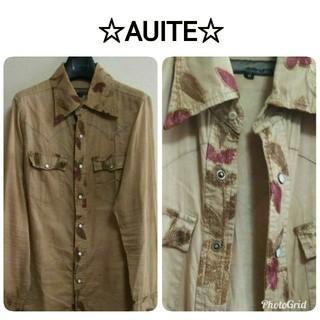 アユイテ(AYUITE)の⭐️AYUITE⭐️アユイテ⭐️刺繍 長袖シャツ(シャツ)