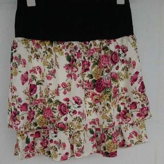 グローブ(grove)のgrove Mサイズ 花柄 スカート(ミニスカート)