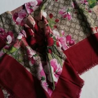 グッチ(Gucci)のGucci Blooms スカーフ ストール(ストール/パシュミナ)
