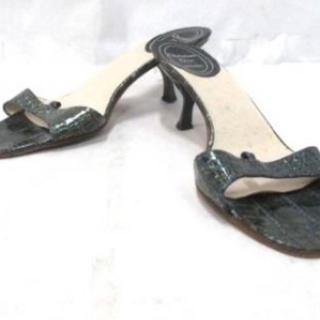 クリスチャンディオール(Christian Dior)の靴 ミュール クリスチャンディオール  36  レディース 型押し加工(ミュール)