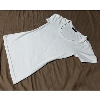シルバーラメ付き 半袖Tシャツ 白(Tシャツ(半袖/袖なし))
